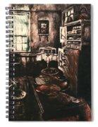 Dark Kitchen Spiral Notebook