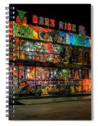 Dark Ride Spiral Notebook