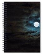 Dark Rising Spiral Notebook