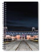 Dark Skies At Citizens Bank Park Spiral Notebook