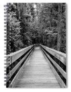 Dark Stroll Spiral Notebook