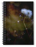 Dark Thistle Spiral Notebook