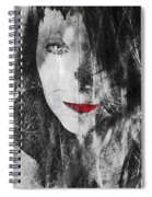 Dark Thoughts Spiral Notebook