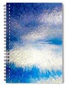 Dark To Light Spiral Notebook