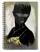 Dark Vision - Featured On Comfortable Art And A Place For All Groups Spiral Notebook