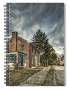 Darkened Days To Come Spiral Notebook