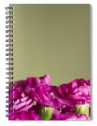 Darling Dianthus Spiral Notebook
