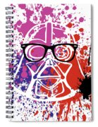 Darth Vader Corrective Lenses Spiral Notebook