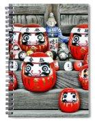 Daruma Dolls Spiral Notebook