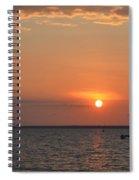 Fannie Bay Sunset 1.4 Spiral Notebook