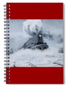 Dashing Through The Snow Spiral Notebook
