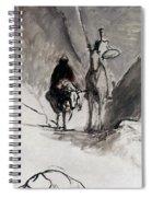 Daumier: Don Quixote Spiral Notebook