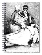 Daumier: Republican, 1834 Spiral Notebook
