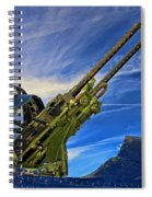 Dauntless Tail Gun Spiral Notebook