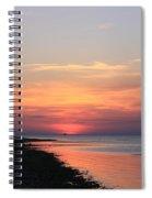 Dauphin Island Sunset Spiral Notebook