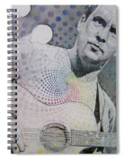 Dave Matthews All The Colors Mix Together Spiral Notebook