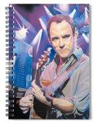 Dave Matthews And 2007 Lights Spiral Notebook