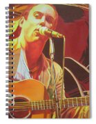 Dave Matthews At Vegoose Spiral Notebook