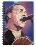 Dave Matthews Colorful Full Band Series Spiral Notebook