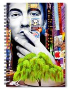 Dave Matthews Dreaming Tree Spiral Notebook