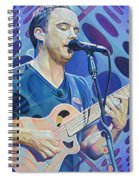 Dave Matthews-op Art Series Spiral Notebook