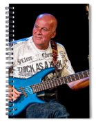 Dave Pegg Bass Player For Fairport Convention And Jethro Tull Spiral Notebook