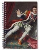 David As Richard IIi, Illustration Spiral Notebook