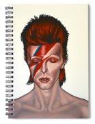 David Bowie Aladdin Sane Spiral Notebook