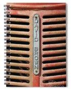 David Brown Spiral Notebook