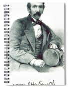 David Livingstone, Scottish Explorer Spiral Notebook