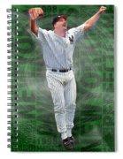 David Wells Yankees Perfect Game 1998 Spiral Notebook
