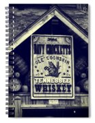 Davy Crocketts Tennessee Whiskey Spiral Notebook