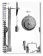 Davy: Gas Machine, 1800 Spiral Notebook