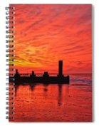 Dawn At The Beach Spiral Notebook