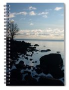 Dawn At The Cove Spiral Notebook