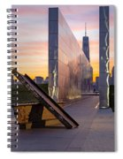 Dawn At The Empty Sky Memorial Spiral Notebook
