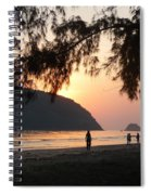 Dawn By The Sea 06 Spiral Notebook