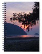 Dawn By The Sea Spiral Notebook