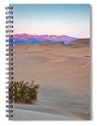 Dawn Dunes Spiral Notebook