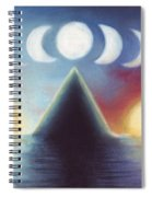 Dawn Dusk And In-between Spiral Notebook