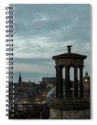 Dawn In Edinburgh Spiral Notebook