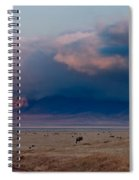 Dawn In Ngorongoro Crater Spiral Notebook