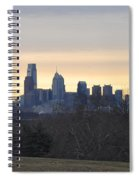 Dawn In Philadelphia Spiral Notebook