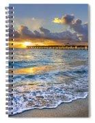 Dawn Lace Spiral Notebook