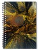 Dawn Of Enlightment Spiral Notebook