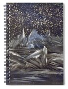 Dawn Of The Moon Spiral Notebook