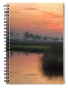 Dawn On The Bayou Spiral Notebook