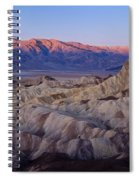 Dawn Over Death Valley Spiral Notebook