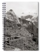 Dawn Over Machu Picchu Spiral Notebook