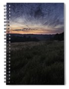 Dawn Over The Hills Spiral Notebook